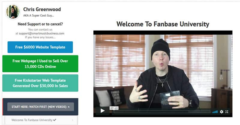 Fanbase University review