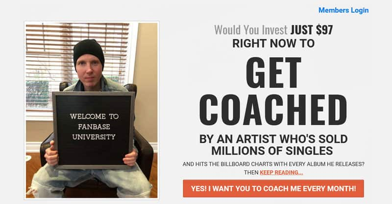 Chris Greenwood music coaching
