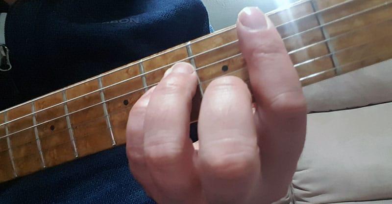 Bm chord, final form