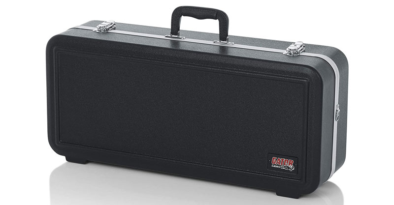 Gator Cases GC-ALTO-RECT Lightweight Molded Alto Saxophone Case With Locking Latch And Plush Lined Interior