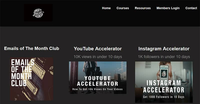 Digital marketing courses for musicians