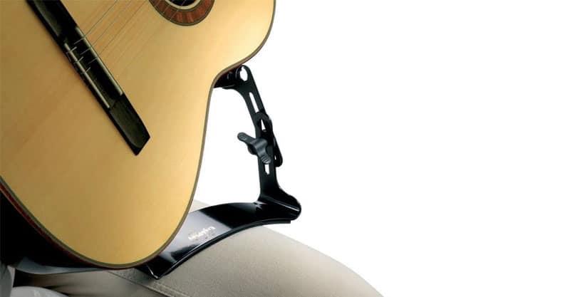 ErgoPlay Schwarz Tappert Guitar Support For Kids