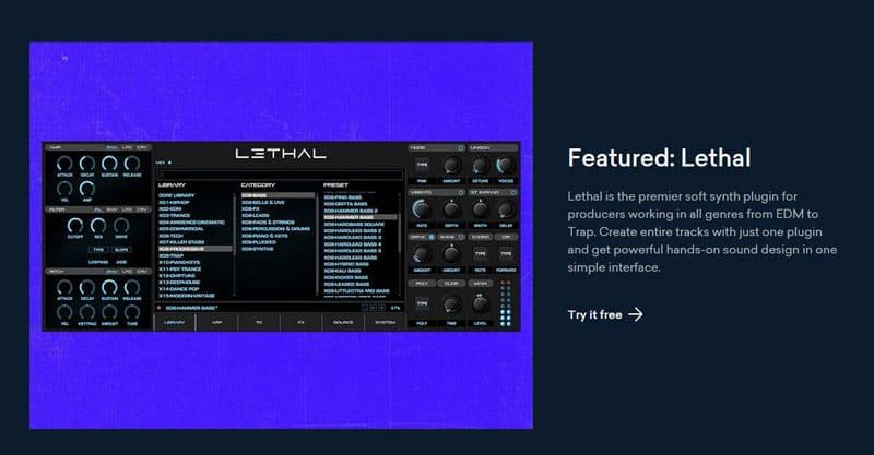 Music distribution, plugins, samples