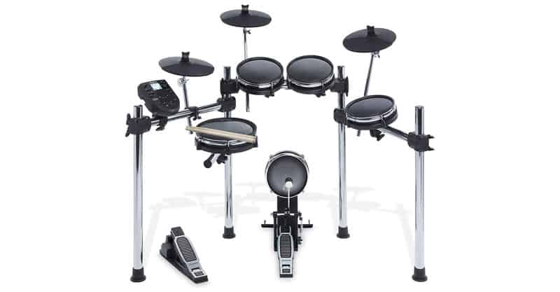 Alesis Surge Mesh Kit | Eight-Piece Electronic Drum Kit With Mesh Heads