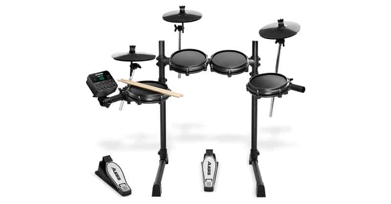 Alesis Drums Turbo Mesh Kit – Seven Piece Mesh Electric Drum Set