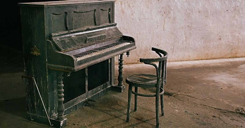 What to do with a used piano