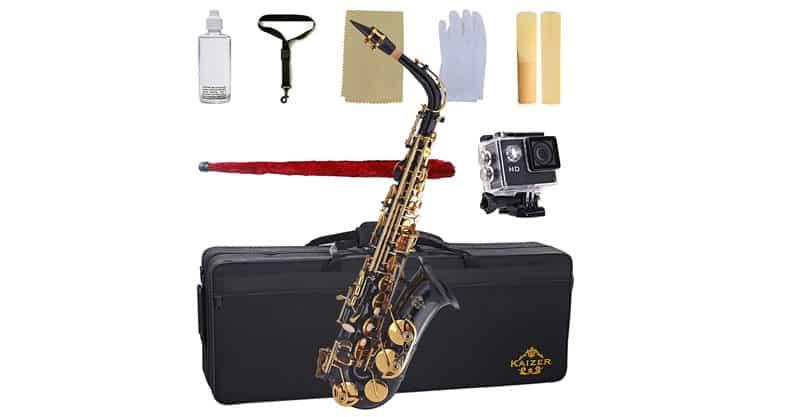Kaizer Alto Saxophone ASAX-1000BKGK