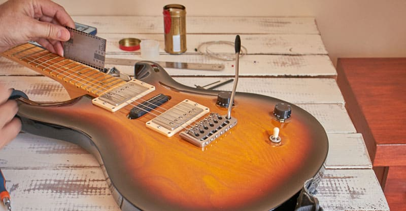Best Guitar String Height