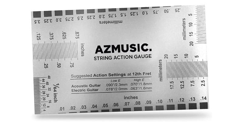AZMUSIC Premium String Action Gauge