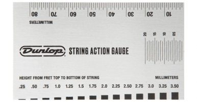 Best Guitar String Height Gauges
