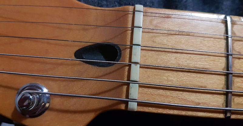 Leave the guitar nut alone
