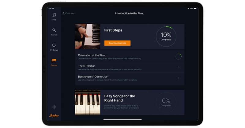flowkey piano app