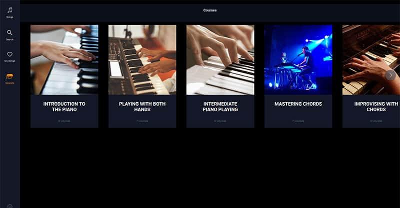 Piano courses
