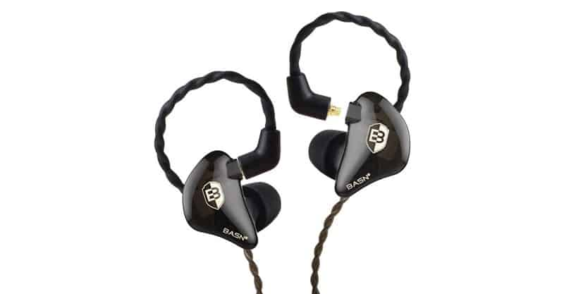 BASN Bsinger 2nd Sound Isolating Earphones With Dual Dynamic Driver Detachable MMCX Cable