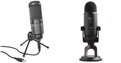 Blue Yeti Vs At2020, Best USB Microphone