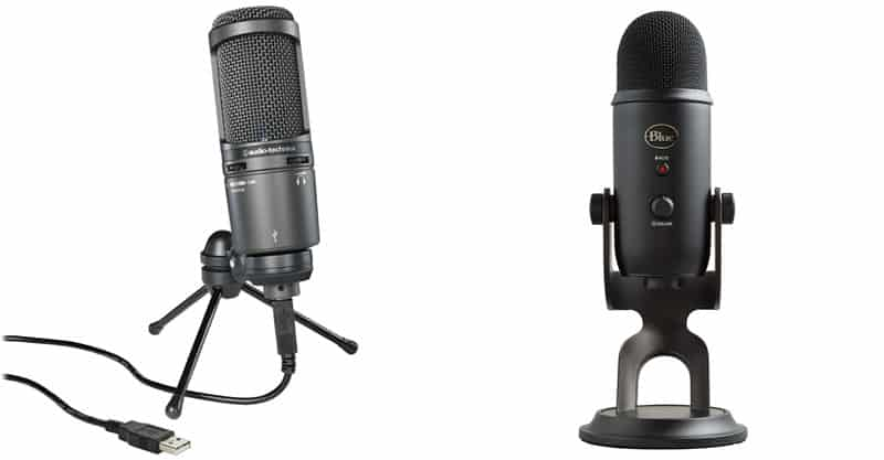 Blue Yeti Vs At2020, Best USB Microphone