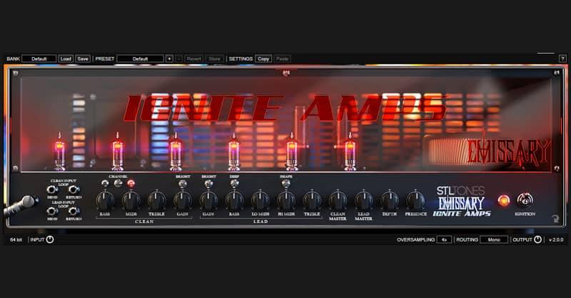 IGNITE AMPS – Emissary