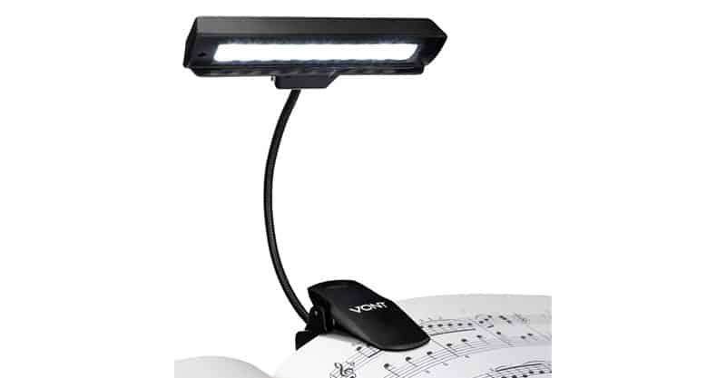 Vont Clip On Book Light