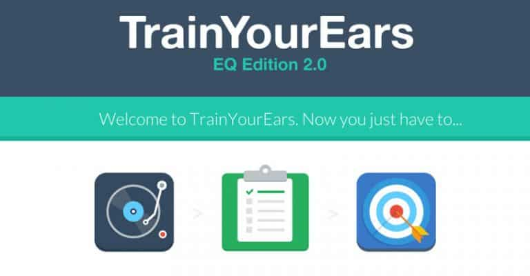 Train Your Ears Review 2021 – Ear Training Software For Understanding Equalisers & Frequencies