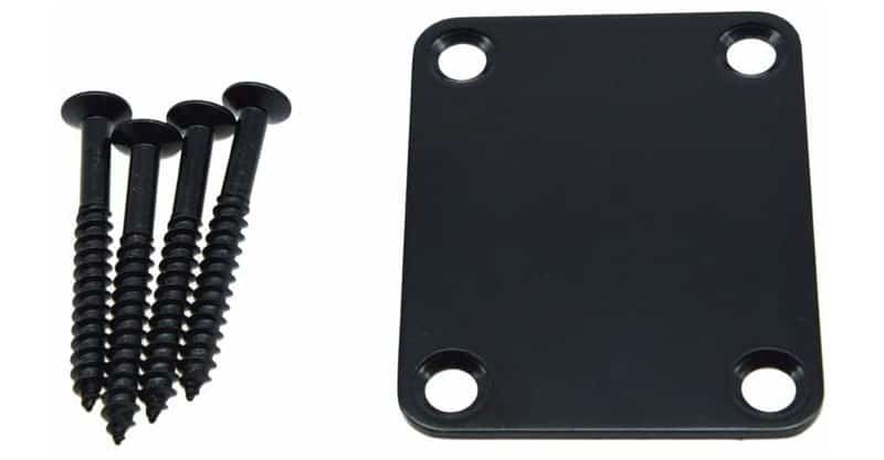 Dopro 4-Bolt Electric Guitar Replacement Neckplate