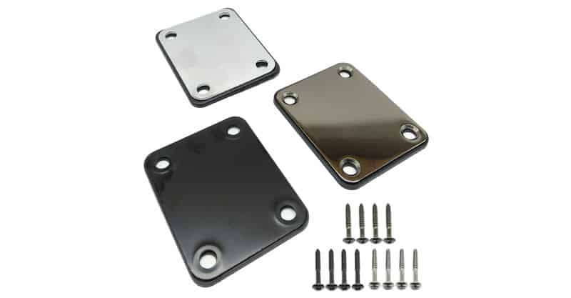 TIHOOD 3 Electric Guitar Neck Plate With Screws