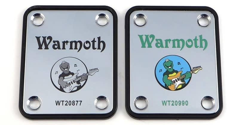LazrArt Warmoth Turtle Guitar Tribute Neck Plate