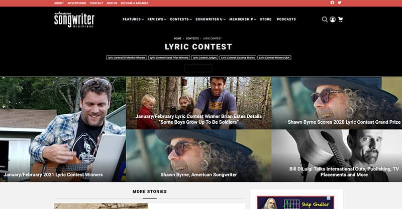 Best Songwriting Contests