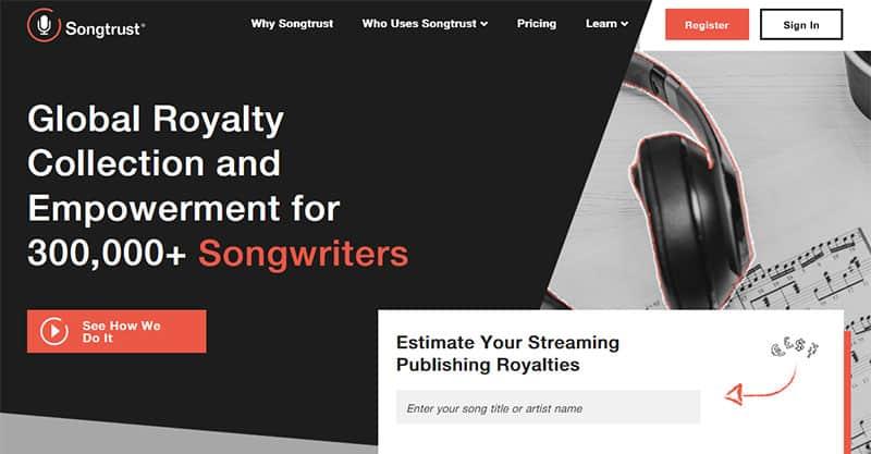 Music publishing royalties