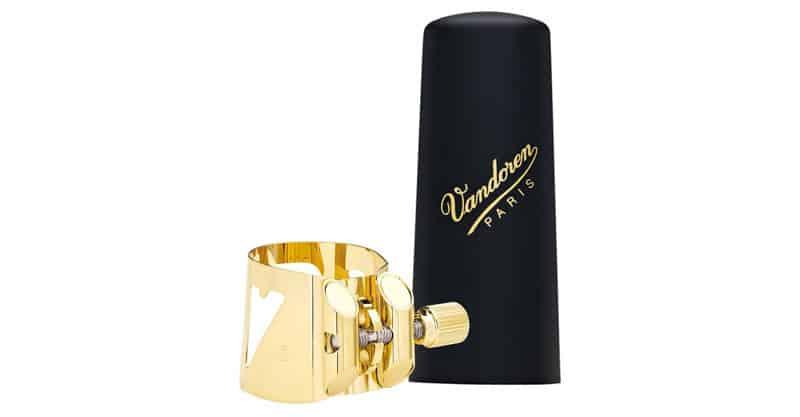 Vandoren LC08P Optimum Ligature And Plastic Cap For Tenor Saxophone