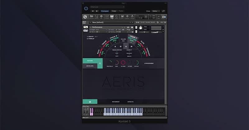 Big Fish Audio Aeris: Hybrid Choir Designer