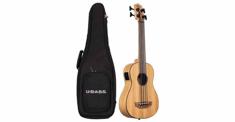 Kala Zebrawood Acoustic-Electric U-BASS
