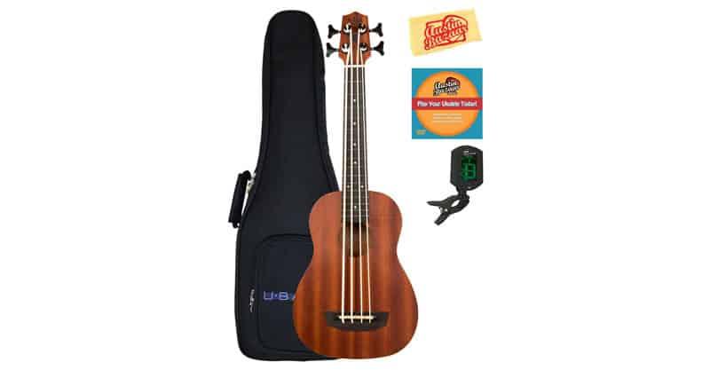 Kala U-Bass-WNDR-FS Wanderer Acoustic-Electric U-Bass Ukulele