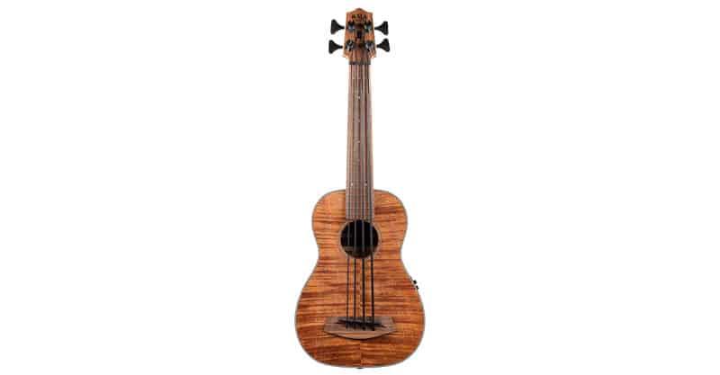 Kala UBASS-EM-FS/LH Exotic Mahogany Left-Handed Acoustic-Electric U-Bass
