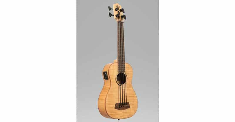 Kala UBASS-FM-FS Flame Maple Fretted U-Bass Acoustic-Electric