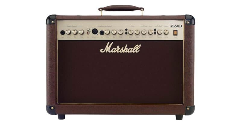 Marshall Acoustic Soloist AS50D 50-Watt Acoustic Guitar Amplifier