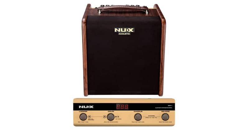 NUX Stageman 50-Watt Acoustic Guitar Amplifier