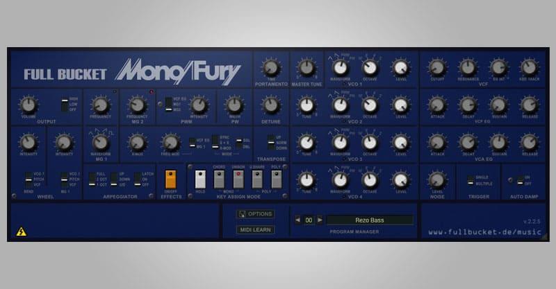 Mono/Fury By Full Bucket Music