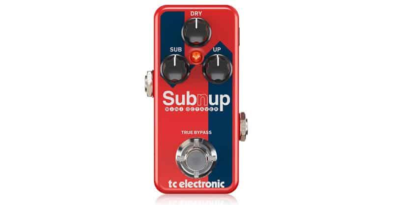 TC Electronic SUB 'N' UP Octaver Mini