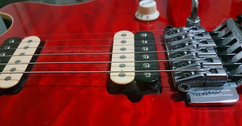 Clean your guitar strings