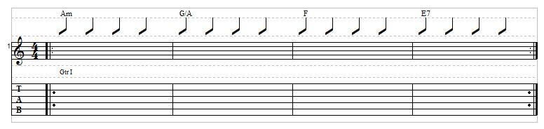 Sad chord progression example 9