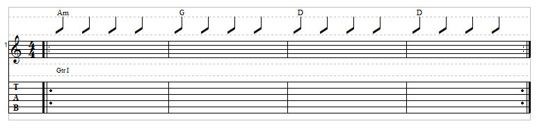 Sad chord progression example 8