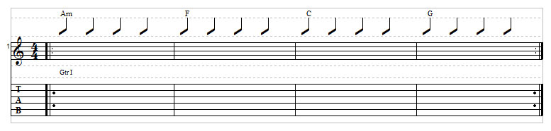 Sad chord progression example 6