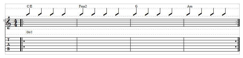 Sad chord progression example 5