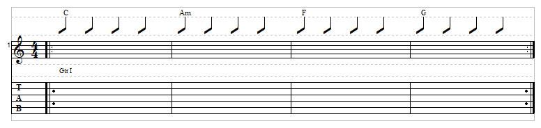 Sad chord progression example 2