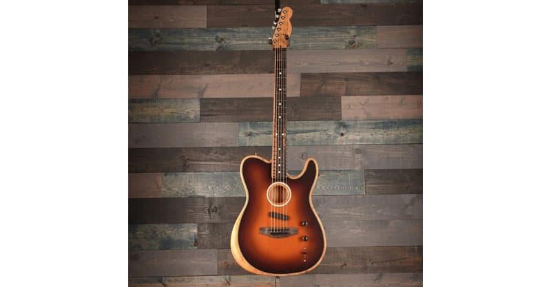Fender American Acoustasonic Telecaster With Premium Gig Bag