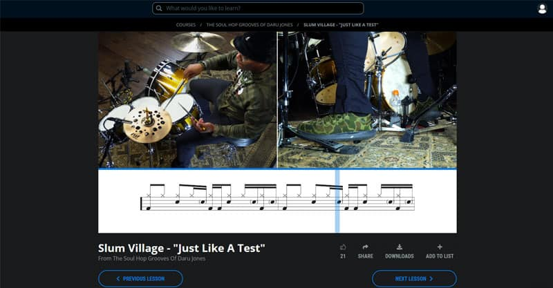 Drum coaching online