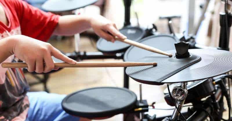 Equipment for a Drumming Practice Routine