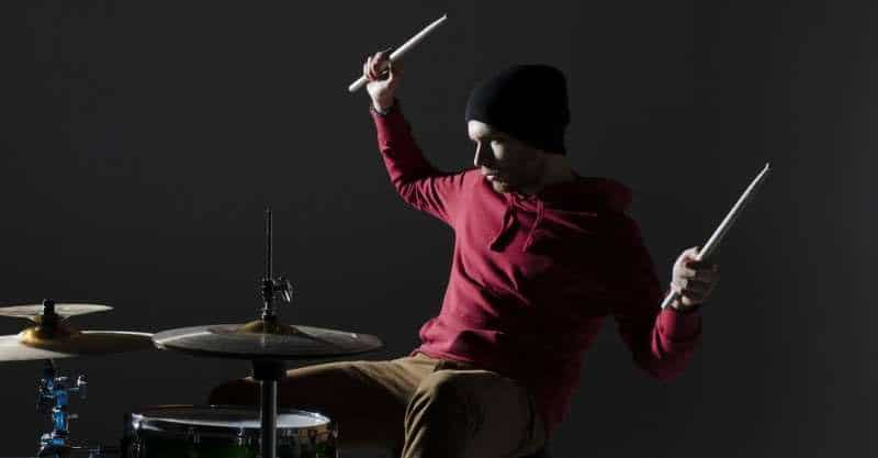 Arm and Core Muscles Are Strengthened While Playing Drums